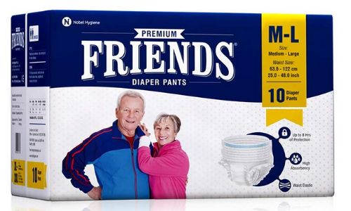 Friends Premium Adult Diapers Pant Style